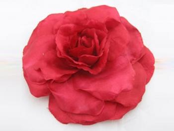 Декоративно червено цвете