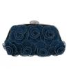 Синьо-зелена чанта за официален повод