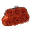 Оранжева чанта за официален повод