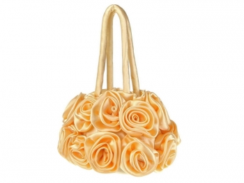 Официална чанта в жълто