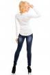 Блуза в бяло с атрактивна бродерия