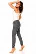 Сив спортно-елегантен панталон