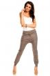 Кафяв спортно-елегантен панталон