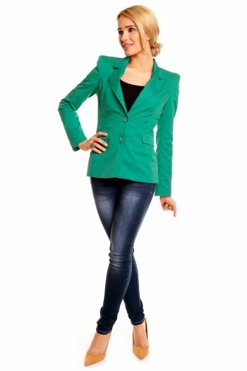 Дамско сако с класически ревер