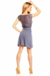 Ежедневна лятна рокля Sublevel във винтидж индиго
