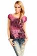 Лятна блуза в цвят боровинка