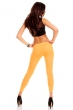 Дамски клин цвят млечен оранж