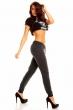 Дамски спортен панталон антрацит