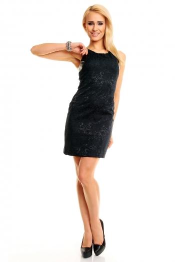 Официална черна рокля SweeWe