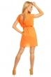 Ефирна туника-рокля Ethina в сияйно жълто