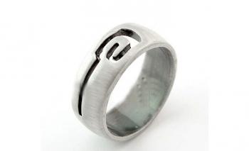 Дамски пръстен посребрен Dekolte