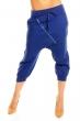 Интензивно син панталон Italy Mode