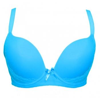 Дамски сутиен в изумрудено синьо CHROME