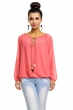 Елегантна блуза цвят сьомга LACHS