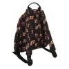 Чанта-раница - сова принт