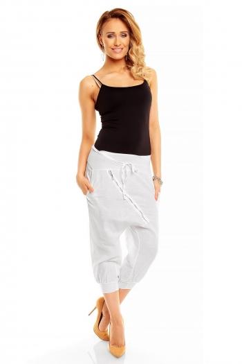 Бял панталон Italy Mode
