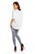 Декорирана памучна бяла блуза Paris Et Moi