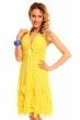Лятна рокля Mayadii в наситено жълто