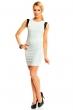 Нежна рокля в шахматен десен New Collection