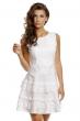 Стилна рокля Jusdepom в бяло
