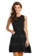 Стилна рокля Jusdepom в черно