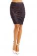 Елегантна дамска пола в черно Italian Style