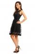 Изключителна дантелена рокля Mayaadi в черно