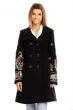 Палто G1 MODA с цветни орнаменти