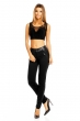 Елегантен панталон в черно Sublevel