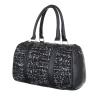 Дамска чанта кожа и текстил