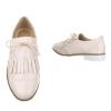 Ниски ежедневни обувки в цвят пудра