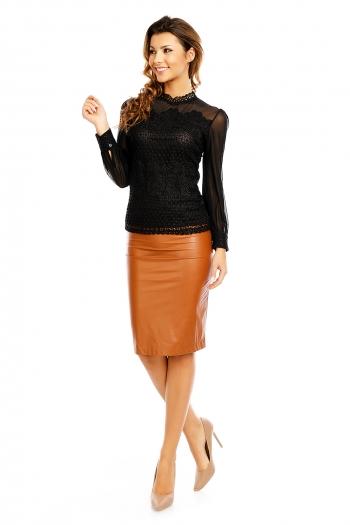 Официална блуза In Vogue в черно