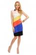 Многоцветна рокля Sweet Miss в ярки цветове