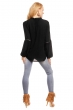 Свободна памучна блуза Samar Moda в черно