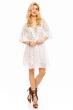 Нежна дантелена рокля Only's в бяло