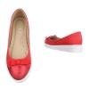 Ежедневни дамски обувки Coura в червено