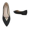 Декорирани ежедневни обувки Seastar Shoes в черно