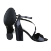 Лачени сандали Mermaid в черно
