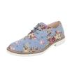 Ежедневни дамски обувки с флорален принт