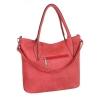 Дамска чанта еко кожа в цвят корал