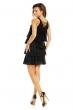 Многопластова рокля Mayaadi в черно