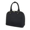 Бизнес дамска чанта в черен цвят