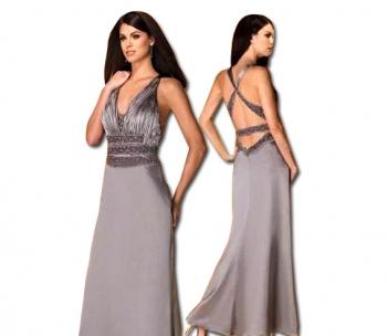 Официална рокля с декорация