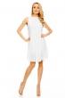 Елегантна бяла рокля Mayaadi