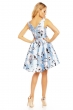Бледосиня рокля Showny