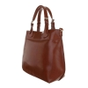 Дамска елегантна чанта в кафяво