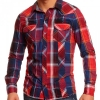 Карирана риза Sublevel в червено