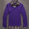 Лилав пуловер монтаж