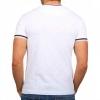 Тениска в бяло с принт и апликация