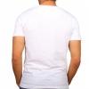 Тениска с черно-бял принт